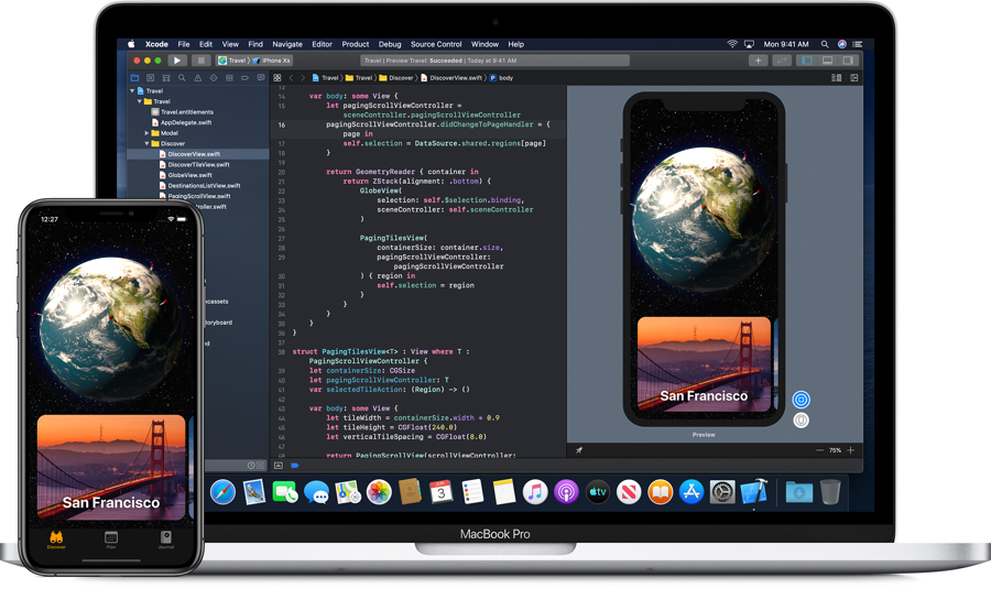 Apple Develop Xcode