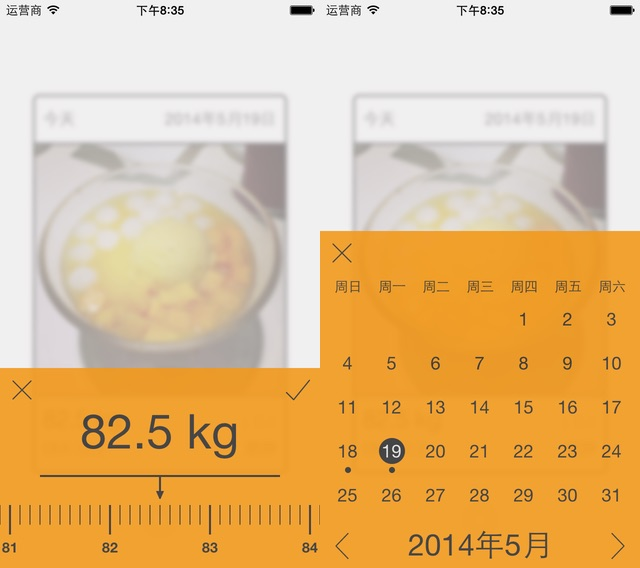 Daily Weight Tracker V1.8 Weight and Calendar